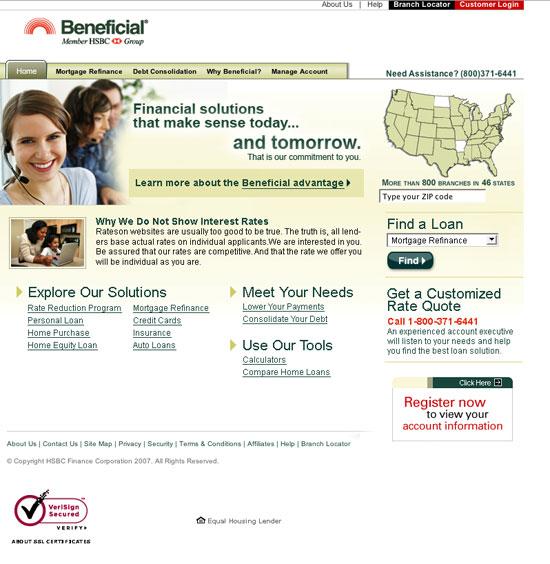 Beneficial.com Sensibility theme