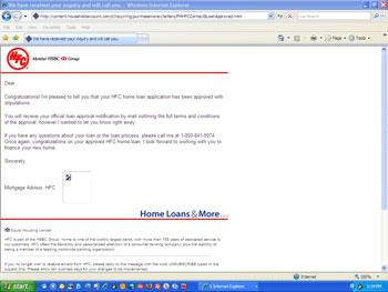 Before: HFC.com Email