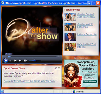 OATS video on Oprah.com