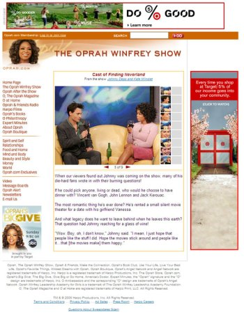 Slideshow on Oprah.com