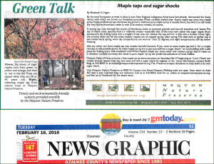Green Talk February 2016 by Elizabeth Fagan